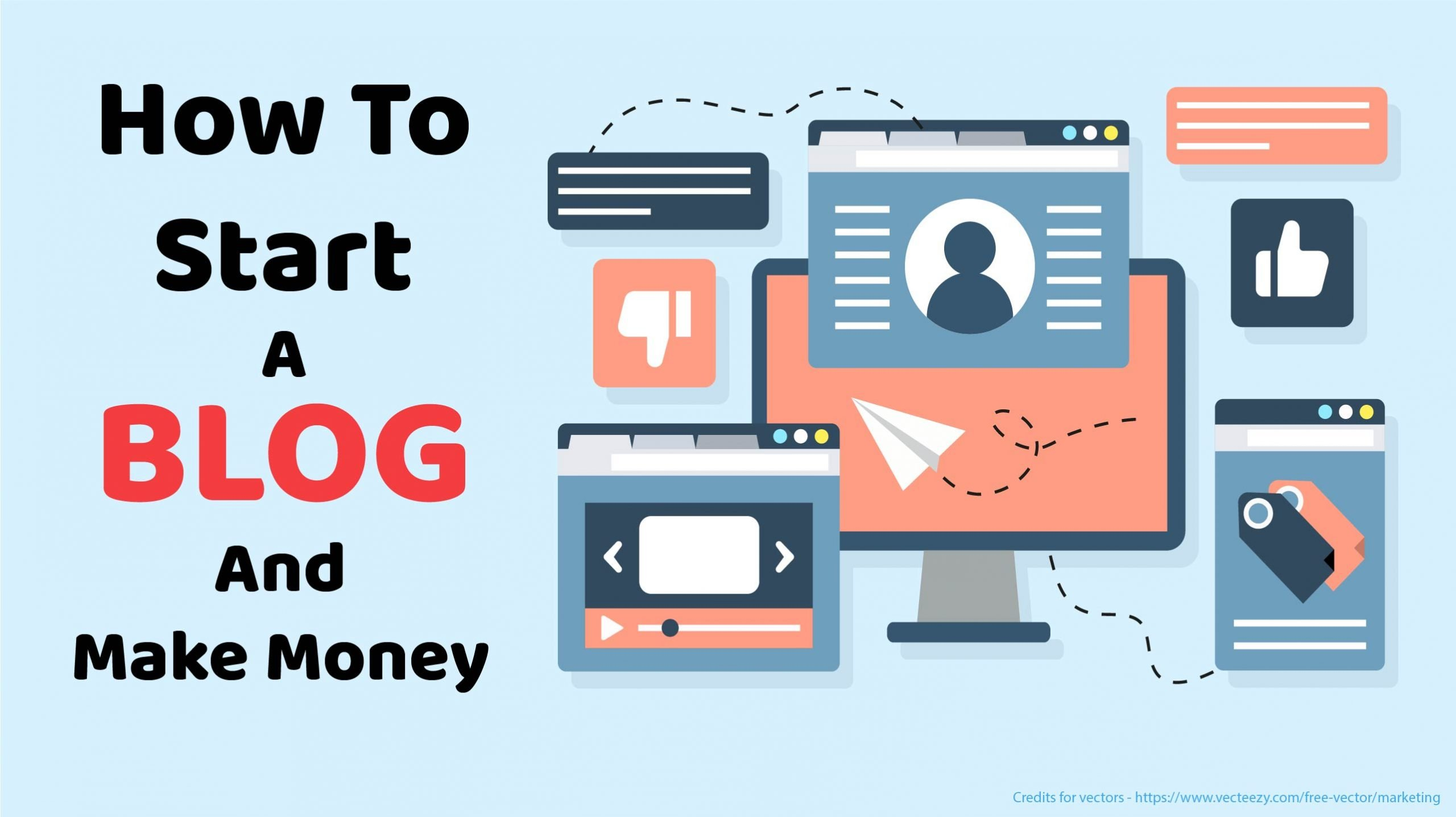 The MOST COMPLETE Guide on How To Start a Blog in 2021 and Make Money
